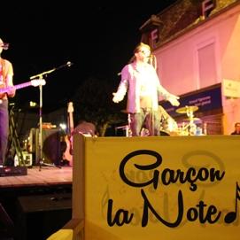 300ème concert avec le groupe Auxerrois Soulair, au Bar du Moulin